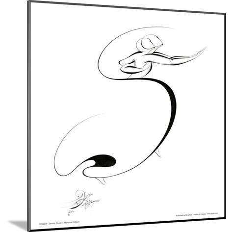 Dancing Couple I-Alijan Alijanpour-Mounted Art Print