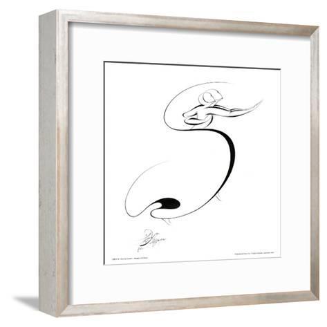 Dancing Couple I-Alijan Alijanpour-Framed Art Print