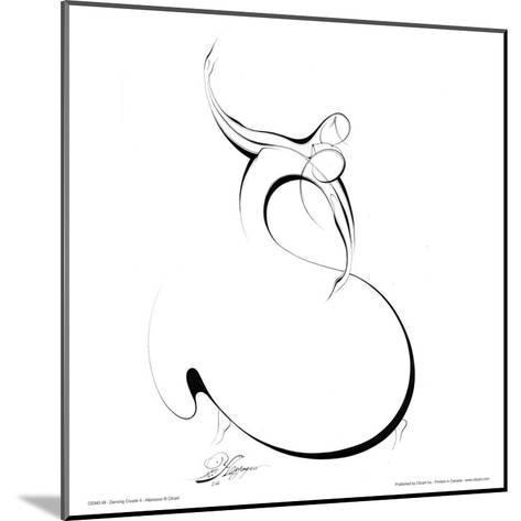 Dancing Couple II-Alijan Alijanpour-Mounted Art Print