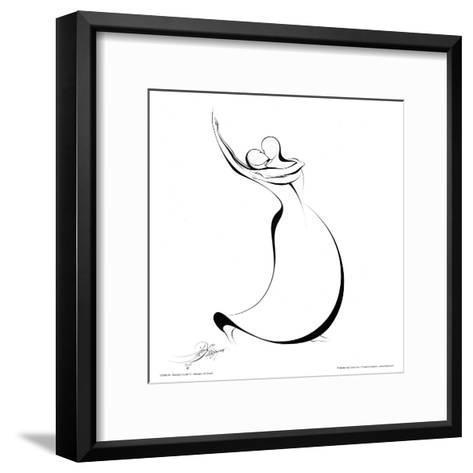 Dancing Couple IV-Alijan Alijanpour-Framed Art Print