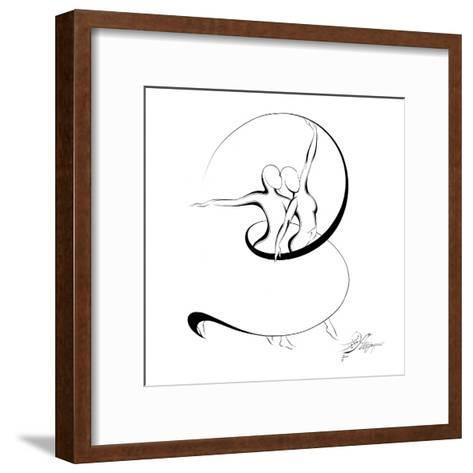 Dancing Couple V-Alijan Alijanpour-Framed Art Print
