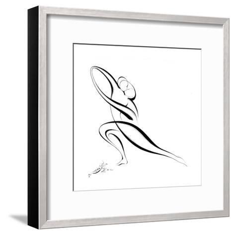 Dancing Couple VII-Alijan Alijanpour-Framed Art Print