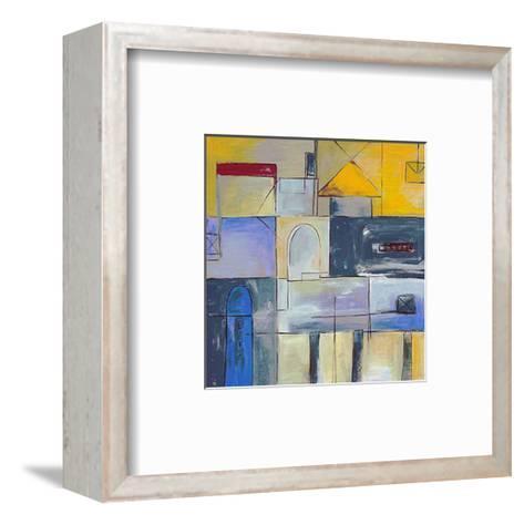 Urban Life IV-S^ Blessing-Framed Art Print