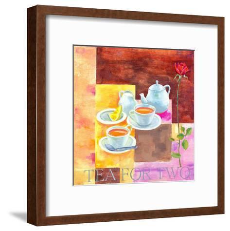 Tea for Two-Don Valenti-Framed Art Print