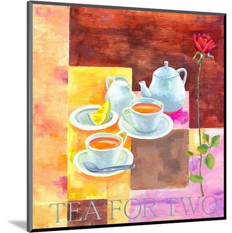 Tea for Two-Don Valenti-Mounted Art Print