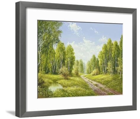 Summer Glow-H^ Buchner-Framed Art Print
