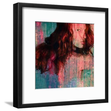 Red Aline-Jean-Fran?ois Dupuis-Framed Art Print
