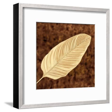 Tropical Leaves II-L^ Morales-Framed Art Print