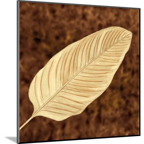 Tropical Leaves II-L^ Morales-Mounted Art Print
