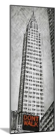 Chrysler Tower-L^ Cartier-Mounted Art Print