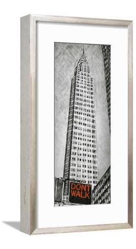 Chrysler Tower-L^ Cartier-Framed Art Print