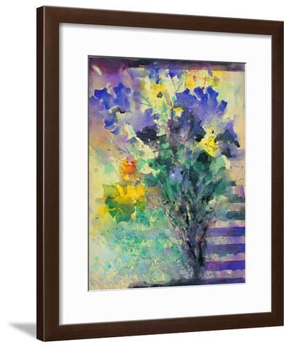 Iris and Narcissus- Branimir-Framed Art Print