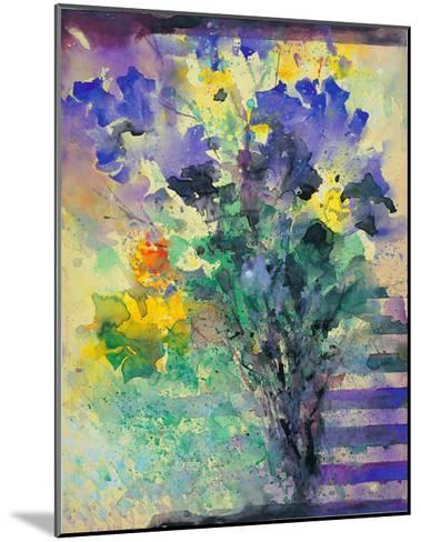 Iris and Narcissus- Branimir-Mounted Art Print