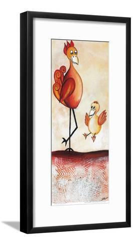Try to Fly-A^ Gill-Framed Art Print