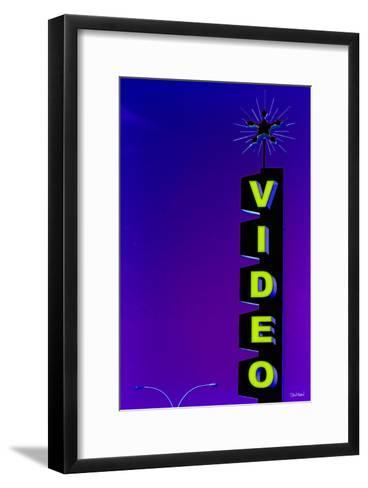 Video-Pascal Normand-Framed Art Print