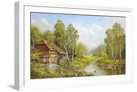 Old Mill Cottage-Helmut Glassl-Framed Art Print