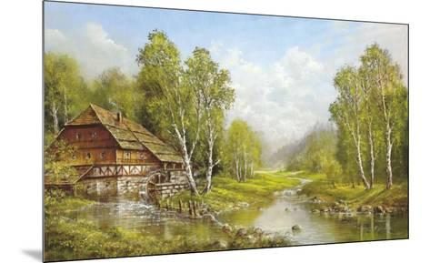 Old Mill Cottage-Helmut Glassl-Mounted Art Print