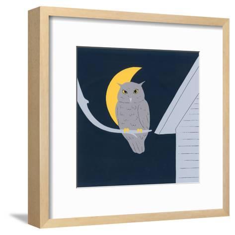 Baby Owl I-Sophie Hanin-Framed Art Print