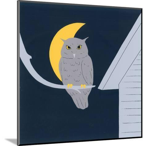 Baby Owl I-Sophie Hanin-Mounted Art Print