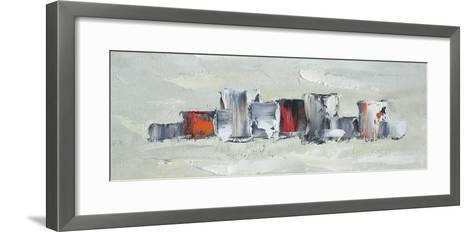 Metropolis IV-Davide Pagani-Framed Art Print