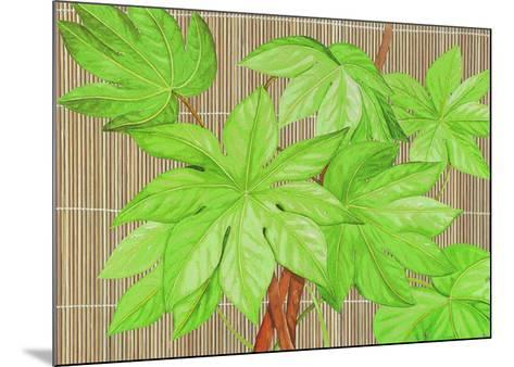 Tropical Leaves I-D^ Patrian-Mounted Art Print