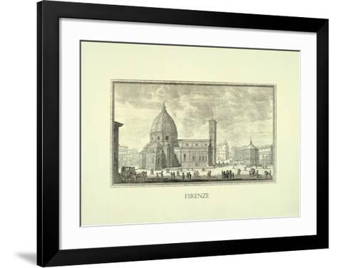 Firenze-Walter Perugini-Framed Art Print