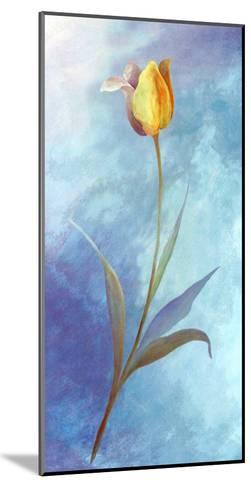 Flowers in Blue-M. Phillys-Mounted Art Print