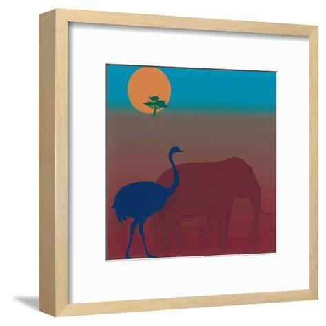 Sahara II-Mercier-Framed Art Print