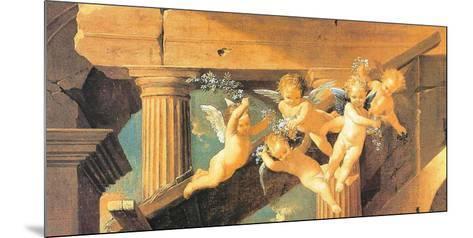 The Adoration of the Magi-Nicolas Poussin-Mounted Art Print