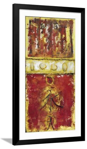 Signs and Stones-Berit Riem-Framed Art Print