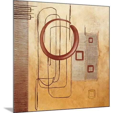 Intersections III--Mounted Art Print