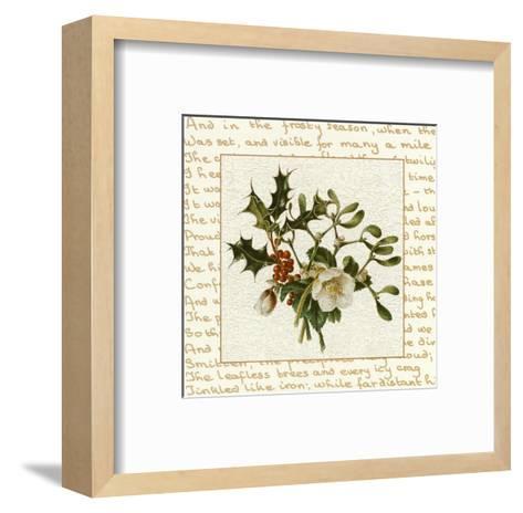 Season Flower--Framed Art Print