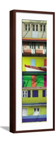 Maisons Cr?oles, Martinique-Roberto Scaroni-Framed Art Print