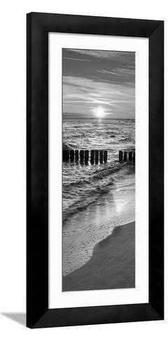 Baltic Seascape at Sunrise, Miedzyzdroje-Jan Wlodarczyk-Framed Art Print