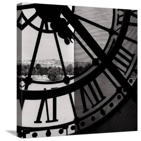 Clock Mus?e d'Orsay I--Stretched Canvas Print