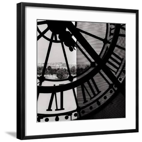 Clock Mus?e d'Orsay I--Framed Art Print