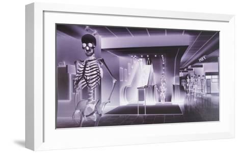 The Big Store-Lars Arrhenius-Framed Art Print