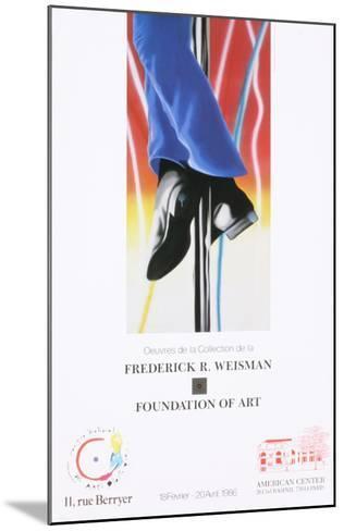 Study for Fire Pole-James Rosenquist-Mounted Art Print