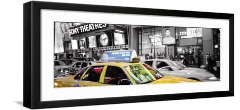 Times Square at Night, New York-Andy Williams-Framed Art Print