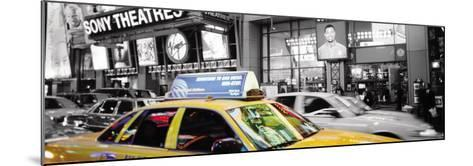 Times Square at Night, New York-Andy Williams-Mounted Art Print
