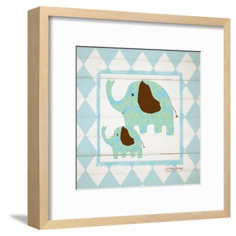 Elephants-Sylvia Murray-Framed Art Print