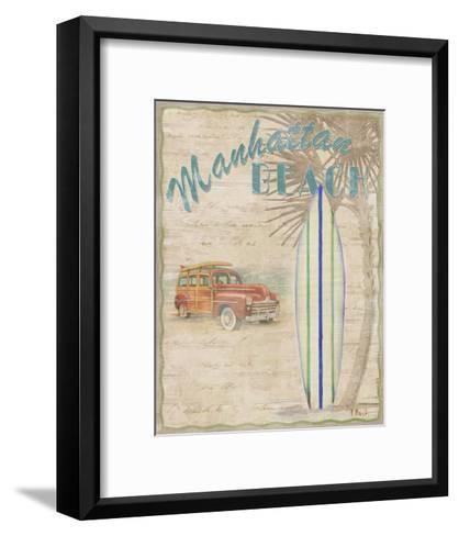 Surf City II-Paul Brent-Framed Art Print