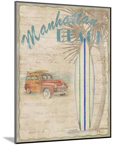 Surf City II-Paul Brent-Mounted Art Print
