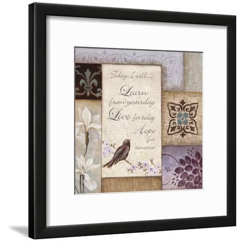 Lavender Inspiration I--Framed Art Print