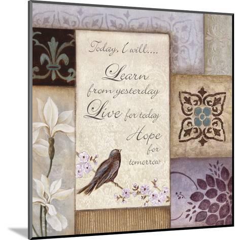 Lavender Inspiration I--Mounted Art Print