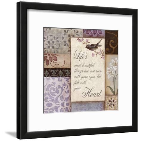 Lavender Inspiration II--Framed Art Print