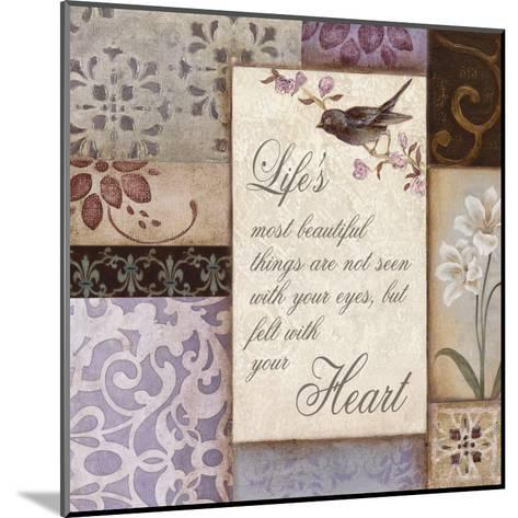 Lavender Inspiration II--Mounted Art Print