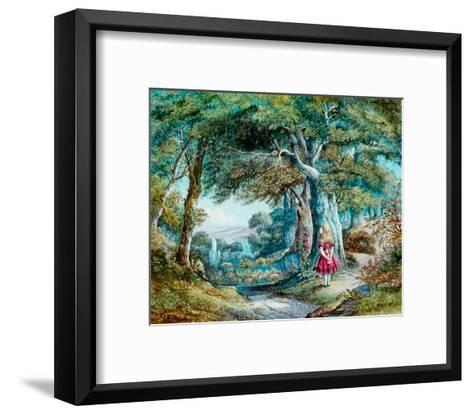Alice in Wonderland--Framed Art Print