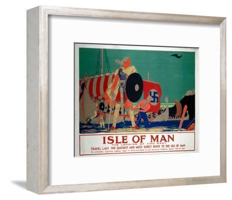 Isle of Man, LMS, c.1920s-Reginald Higgins-Framed Art Print
