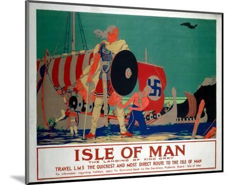Isle of Man, LMS, c.1920s-Reginald Higgins-Mounted Art Print